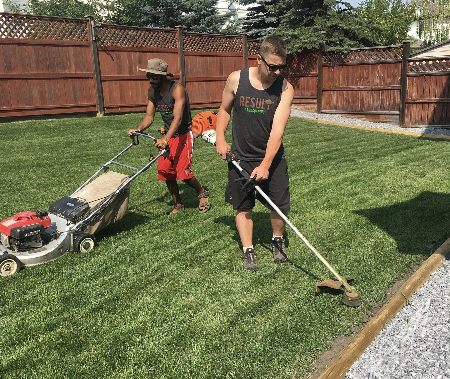 lawn mowing services in Maryland